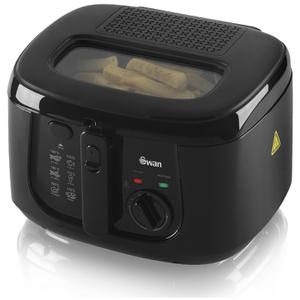 Swan SD6080BLKN 2.5L Square Fryer - Black