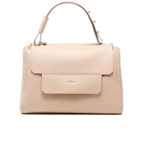 Furla Women's Capriccio Medium Top Handle Bag - Acero
