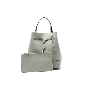 Furla Women's Stacy Mini Drawstring Bucket Bag - Agave