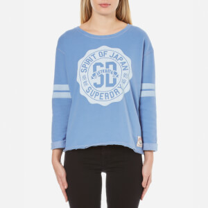 Superdry Women's Rosetta Sweatshirt - Blue Skies