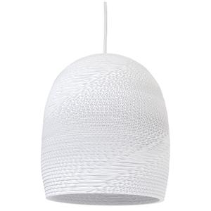 Graypants Bell Pendant - 10 Inch - White