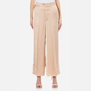 Helmut Lang Women's High Waist Trousers - Sandstorm