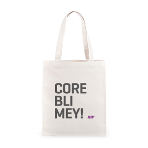 CoreBlimey Slogan Canvas Tas
