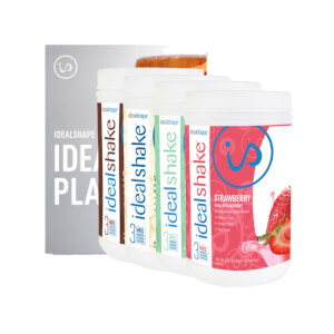 4 Meal Replacement Shake Tubs + Ebooks