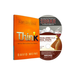 2 Motivational Weight Loss CD's and Think Book by David Meine