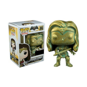 Figurine Funko Pop! Batman v Superman Wonder Woman (Patine)