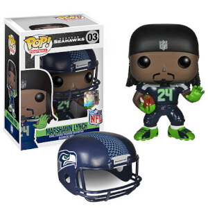 NFL Marshawn Lynch 1ère Vague Figurine Funko Pop!