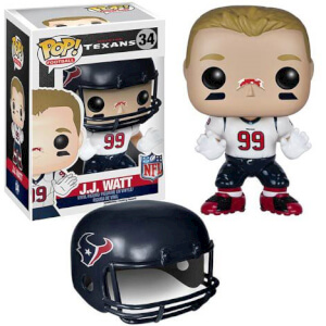 NFL J.J. Watt Wave 2 Pop! Vinyl Figure