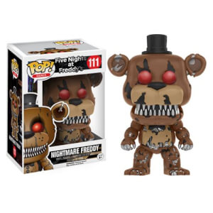 Five Nights at Freddy's Nightmare Freddy Figura Pop! Vinyl