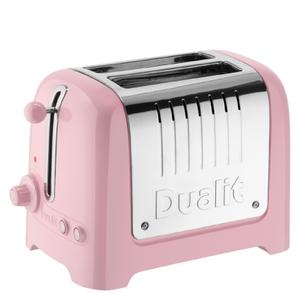 Dualit 26266 Lite 2 Slot Toaster - Pink Rose
