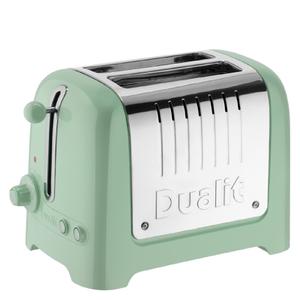 Dualit 26268 Lite 2 Slot Toaster - Pistachio Green