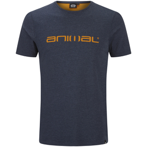 Animal Men's Marrly T-Shirt - Total Eclipse Navy Marl
