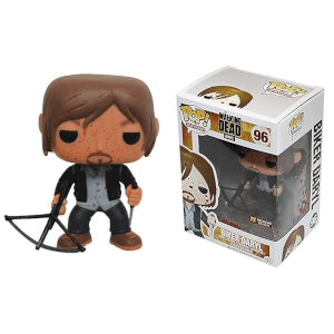 Walking Dead Bloody Biker Daryl Previews! Pop! Vinyl Figure