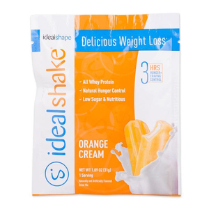 IdealShake Orange Cream Sample