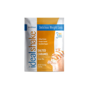 IdealShake Salted Caramel Sample