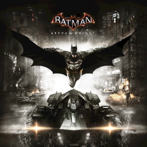 Best of Batman: Arkham Knight - The Original Motion Picture Soundtrack (1LP) Limited Edition Blue & Maroon Splatter Vinyl