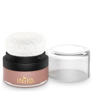 Pot + Houppette Blush Minéral INIKA – Pink Petal