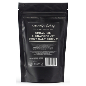 Natural Spa Factory Geranium and Grapefruit Body Scrub