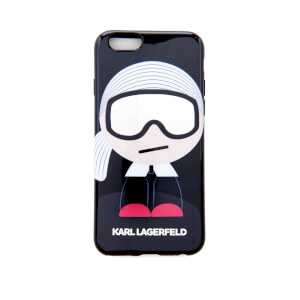 Karl Lagerfeld Women's Kl Ho Ski TPU iPhone 6 Phone Case - Black