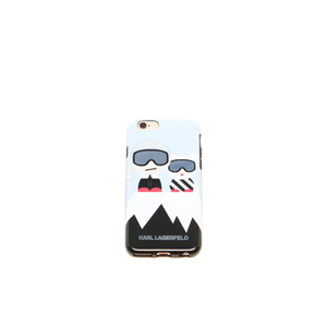 Karl Lagerfeld Women's Kl Ho Choupette Ski TPU iPhone 6 Phone Case - Black