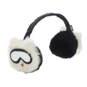 Karl Lagerfeld Women's Holiday Earmuffs - White