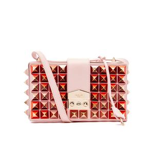 SALAR Women's Lou Studs Bag - Rosa