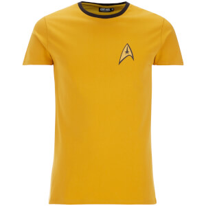 Star Trek Engineer Uniform Heren T-Shirt - Yellow