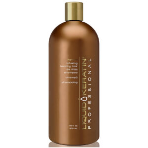 Liquid Keratin Professional Keratin Infusing Healthy Hair De-Frizz Shampoo (33oz)