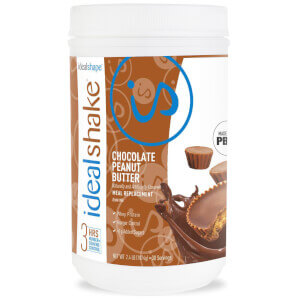 IdealShake Chocolate Peanut Butter - Meal Replacement Shake - 30 Servings