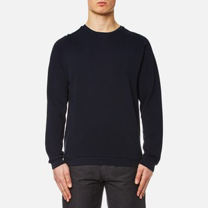 Universal Works Men's Easy Crew Neck Sweatshirt - Navy