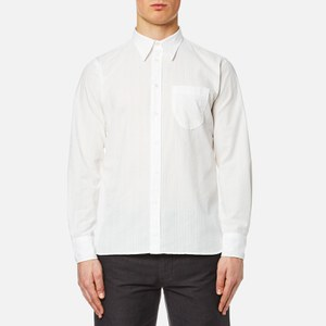 Universal Works Men's Point Collar Shirt - White