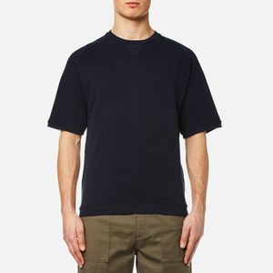 Universal Works Men's Short Sleeve Crew Neck T-Shirt - Navy