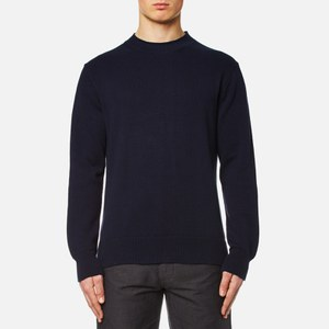 Universal Works Men's Loose Fisherman Jumper - Navy