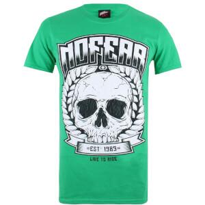 Camiseta No Fear Skull Wreath - Hombre - Verde
