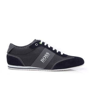 BOSS Green Men's Lighter Low Top Trainers - Dark Blue