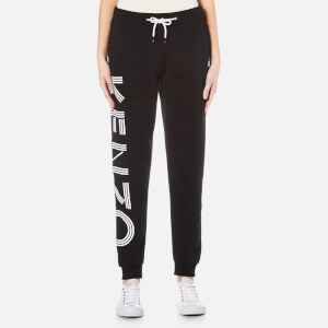 KENZO Women's Kenzo Light Brushed Molleton Trackpants - Black