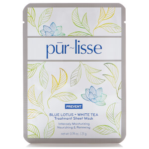 Purlisse Blue Lotus and White Tea Treatment Sheet Mask