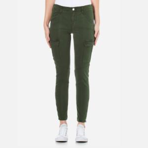 J Brand Women's Houlihan Mid Rise Cargo Trousers - Caledon