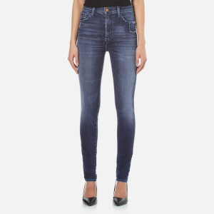 J Brand Women's Carolina Super High Rise Skinny Comfort Stretch Jeans - Gone