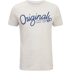 Jack & Jones Men's Originals Atom T-Shirt - White