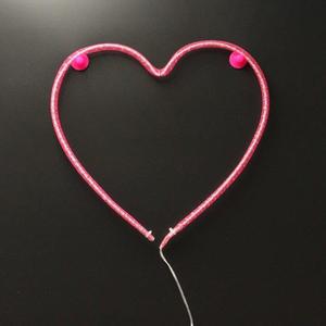 Nylon Heart Light (Battery Operated): Image 2