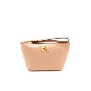 Lauren Ralph Lauren Women's Newbury Cosmetic Wristlet Bag - Camel