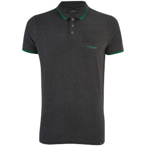 Smith & Jones Men's Albedo Polo Shirt - Dark Charcoal Marl