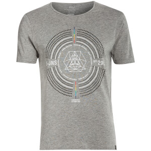 Smith & Jones Men's Iconostasis Crew Neck T-Shirt - Mid Grey Marl