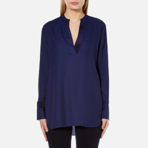 By Malene Birger Women's Gulana Top - Midnight Heaven