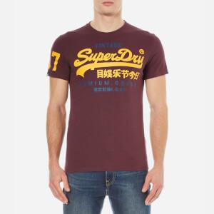 Superdry Men's Premium Goods Duo T-Shirt - Royal Blood