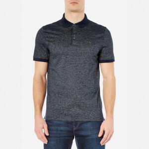 Michael Kors Men's Jacquard Polo Shirt - Midnight