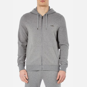 Michael Kors Men's Stretch Sweat Full Zip Hoody - Ash Melange