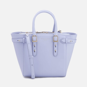 Aspinal of London Women's Marylebone Smooth Bag - Blue