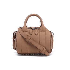 Alexander Wang Women's Mini Rockie Pebbled Leather Bag - Biscuit